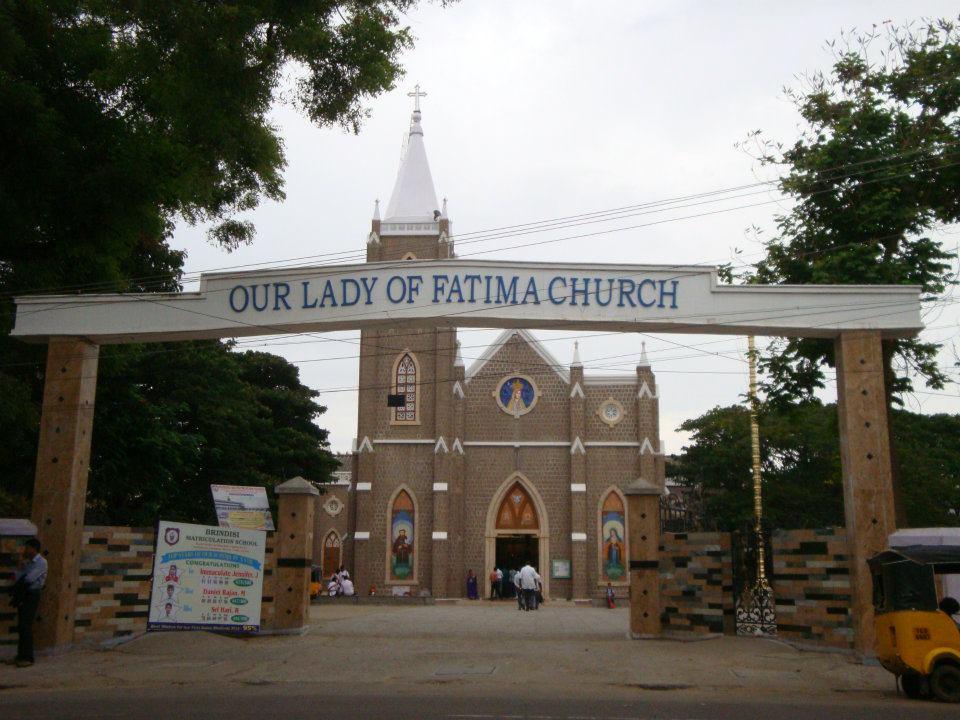 Our Lady of Fatima Church, Gandhi Puram, Coimbatore